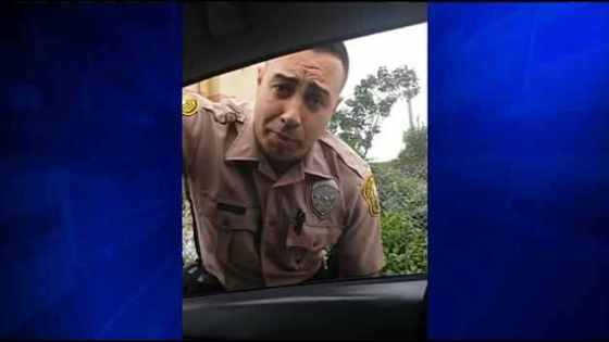 Miami Dade cop gets pulled over by driver