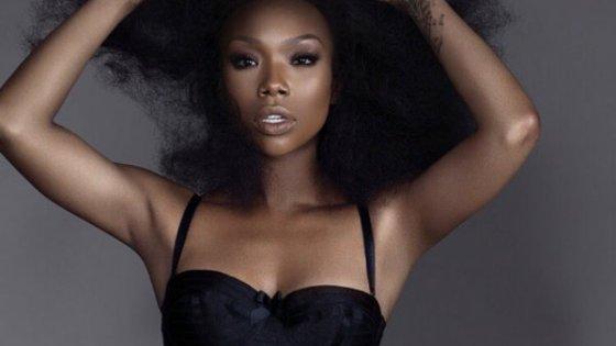 Brandy 2015 black dress baddie