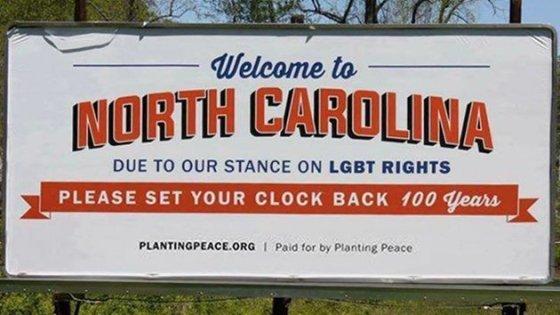 Planting Peace North Carolina Billboard