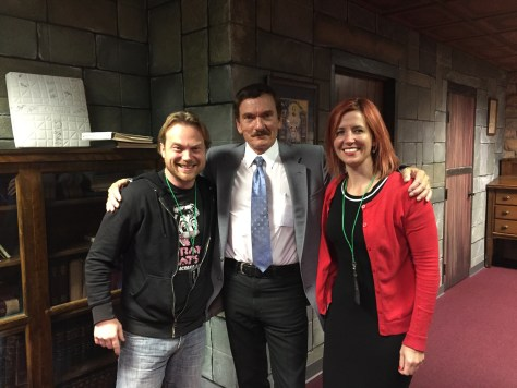 Mike and Wendy Lynn with Travis Walton