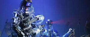 Conoce al robot guitarrista de 78 dedos