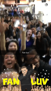 How to Get The DJ Khaled Fan Love Snapchat Filter