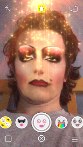 Snapchat Lenses - Extremely Thick Make Up Snapchat Lens