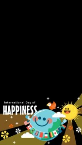 Snapchat Filters - International Day of Happiness Snapchat Filter