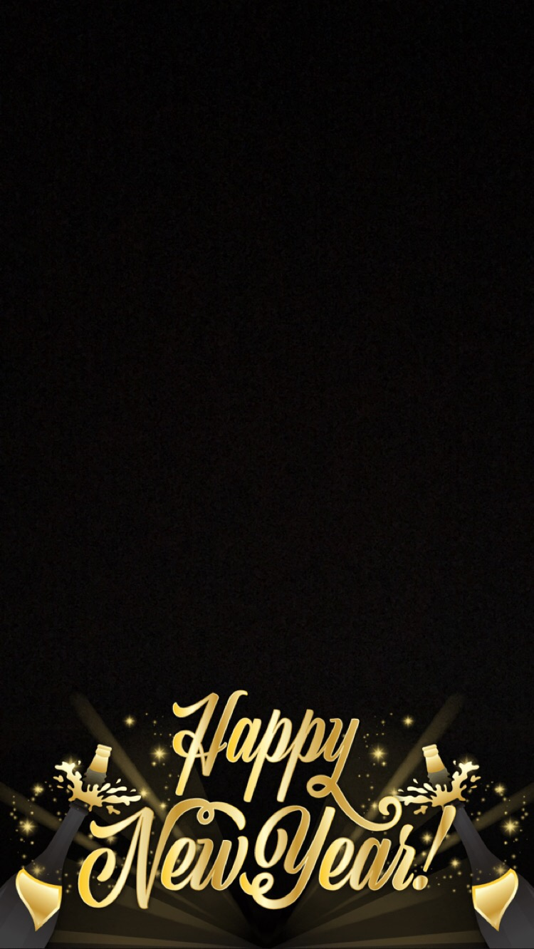 Snapchat Filters - New Years Eve Happy New Year Snapchat Filter 2016