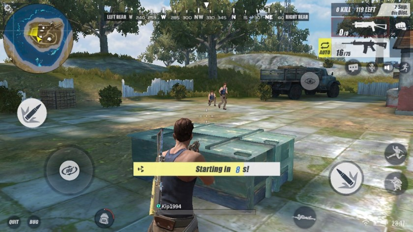 How to Start The Game With a Gun in Rules Of Survival