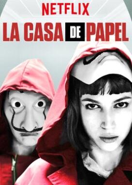 Resize  La Casa De Papel Season Dua  Netflix Line Social Media