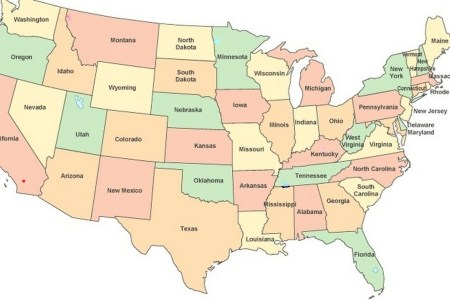 show me a map of the united states
