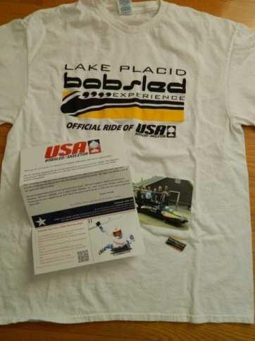Lake Placid Bobsleigh Experience Rewards