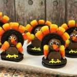 Thanksgiving Oreo Turkey Cookies