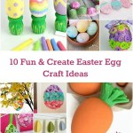 10 Fun & Create Easter Egg Craft Ideas
