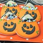 Halloween Pumpkin Cookies Recipe