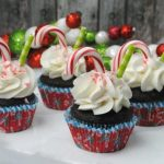 Be Merry with the Peppermint Hot Cocoa Chocolate Cupcakes Recipe