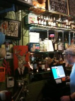 Back counter at the BottleTree