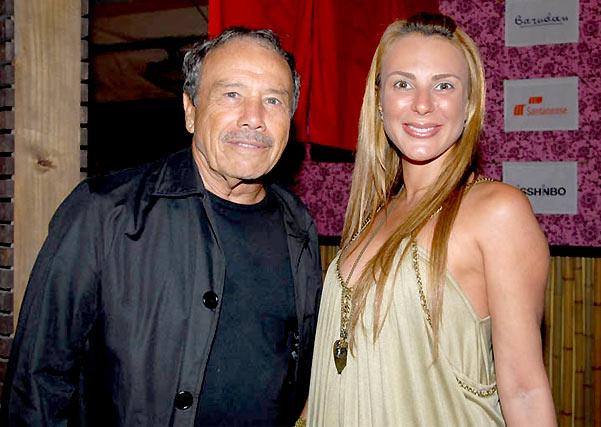 Stênio Garcia e a mulher, Marilene Saade (Foto: Divulgação)