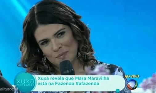 """Xuxa revela os participantes que estarão na """"Fazenda 8"""" (Foto reprodução)"""