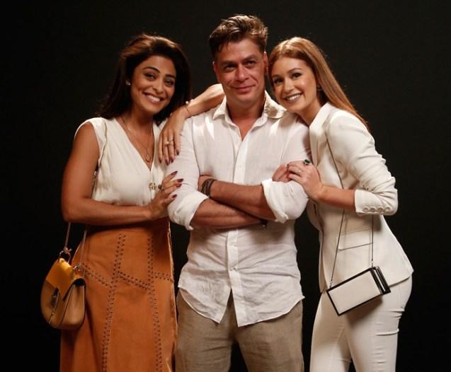 A atriz disputará Fábio Assunção com Marina Ruy Barbosa (Foto: Raphael Dias / Gshow)