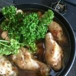 鶏肉の煮込み料理