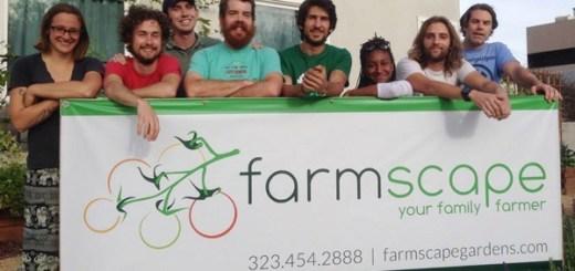 あなたの庭を野菜畑に変えます。LA発の家庭菜園サービス「Farmscape」
