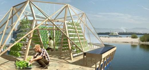 """海に浮かぶ食料生産システム「The Jellyfish Berge」""""農地""""を拡大する動き"""