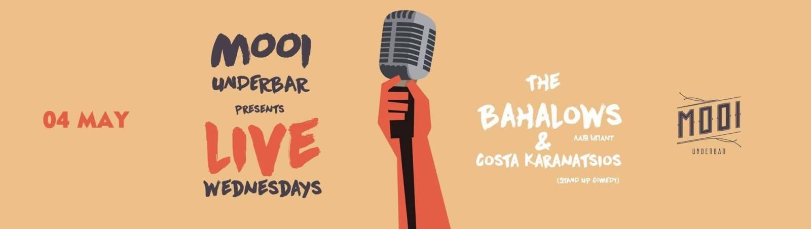 The Bahalows @ Costas Karanatsios live στο Mooi under bar στην Κοζάνη, την Τετάρτη 4 Μαΐου