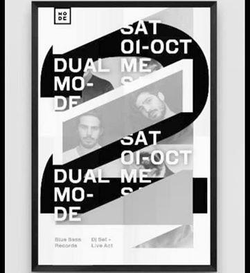 Οι DUAL ME στο Mode bar στην Κοζάνη το Σάββατο 1 Οκτωβρίου
