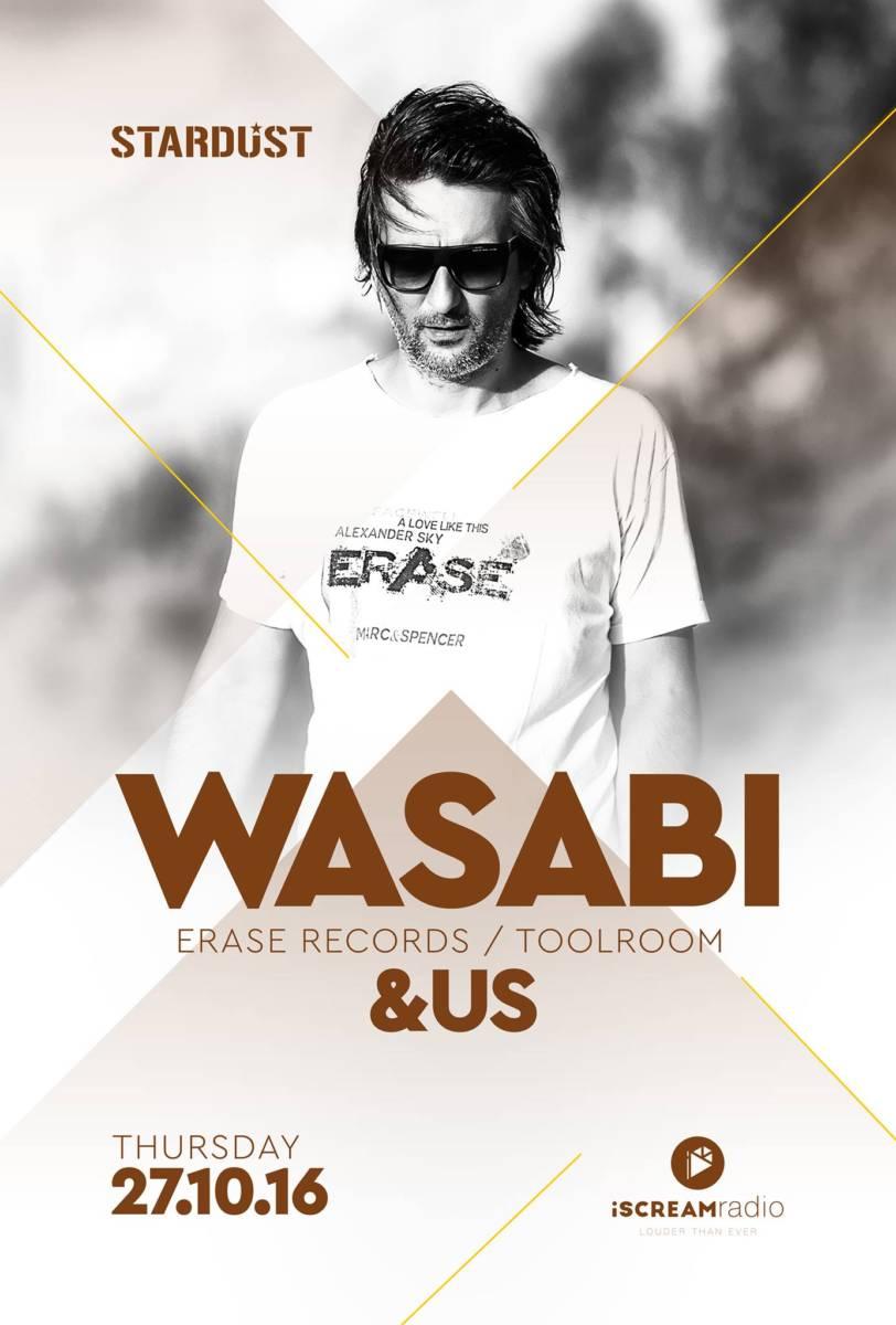 WASABI @ Stardust All Day Bar στην Καστοριά, την Πέμπτη 27 Οκτωβρίου