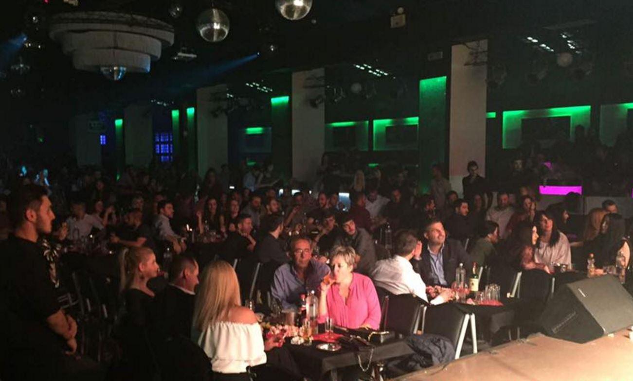 Το θερμόμετρο της διασκέδασης χτύπησε κόκκινο, στο Daluz live στην Κοζάνη, με την εμφάνιση της Ελένης Χατζίδου, την Πέμπτη 27 Οκτωβρίου