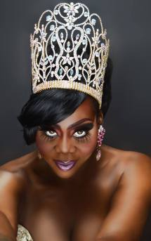 Tahjee Iman - Miss Continental Plus 2014