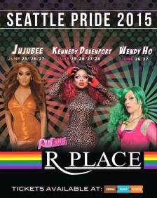 Show Ad | R Place (Seattle, Washington) | 6/25-6/28/2015