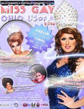 Miss Gay Ohio USofA 2014 | Axis Night Club (Columbus, Ohio) | 2/21/2014 - 2/23/2014