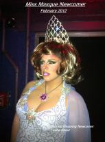 Tasha Salad - Miss Masque Newcomer 2011 (Emeritus)
