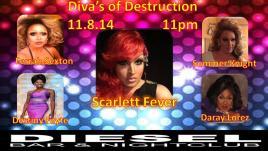 Show Ad | Diesel Bar & Nightclub (Springfield, Ohio) | 11/18/2014