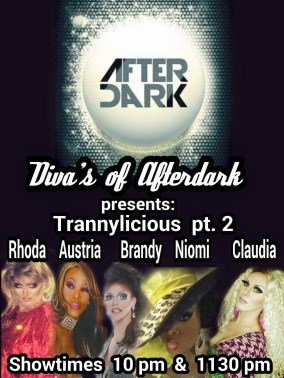 Show Ad | After Dark (Fort Wayne, Indiana) | 4/18/2015