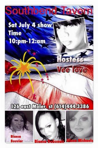 Show Ad | Southbend Tavern (Columbus, Ohio) | 7/4/2015