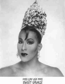 Sweet Savage - Miss Gay USofA 1993