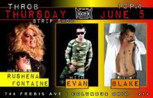 Show Ad | Toolbox Saloon (Columbus, Ohio) | 6/5/2014