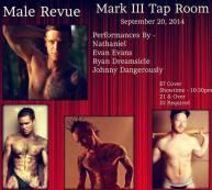 Show Ad | Mark III Tap Room (Muncie, Indiana) | 9/20/2014