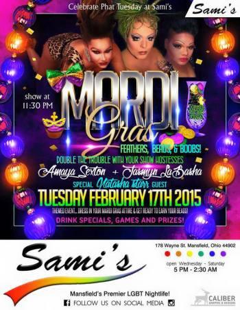 Show Ad | Sami's (Mansfield, Ohio) | 2/17/2015