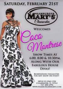 Show Ad | Hamburger Mary's (Clearwater, Florida) | 2/21/2015