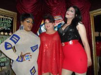 Deja Dellataro, Hellin Bedd and Nikole Trader at Cavan Irish Pub (Columbus, Ohio) May 2015