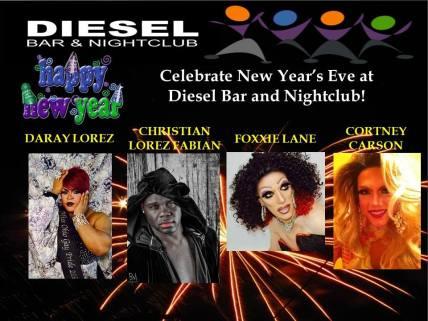 Show Ad   Diesel Bar & Nightclub (Springfield, Ohio)   12/31/2015