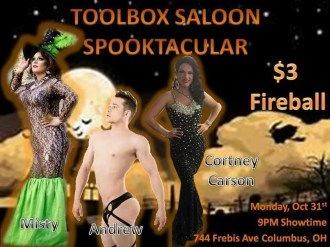 Show Ad | Toolbox Saloon (Columbus, Ohio) | 10/31/2016
