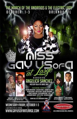 Show Ad | Miss Gay USofA at Large | Parliament House (Orlando, Florida) | 10/1-10/3/2014