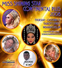 Show Ad | Miss Shining Star Continental Plus | Talbott Street (Indianapolis, Indiana) | 10/23/2008