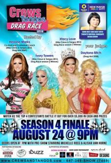 Show Ad | Crews & Tangos (Toronto, Canada) | 8/24/2014