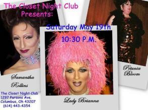 Show Ad | Closet Night Club (Columbus, Ohio) | 5/19/2007