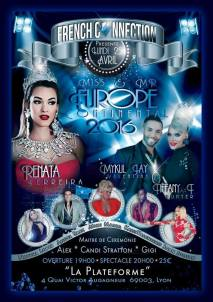 Show Ad | Miss and Mr. Europe Continental | Oh! Paradis (Lyon, France) | 4/25/2016