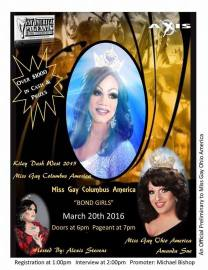 Show Ad | Miss Gay Columbus America | Axis Night Club (Columbus, Ohio) | 3/20/2016