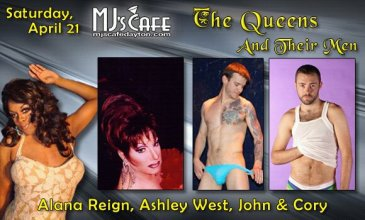 Show Ad | MJ's Cafe (Dayton, Ohio) | 4/21/2012